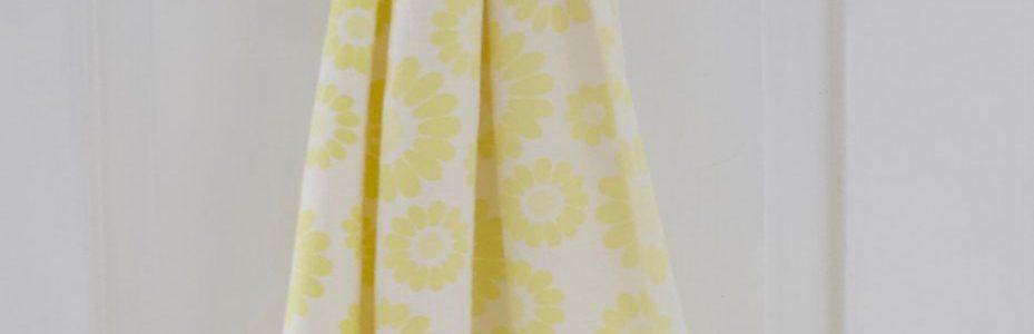 kelta kukallinen retro verho / kangas